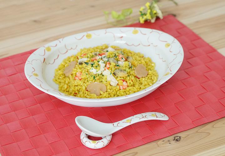 波佐見焼  和食器 セレクトショップ Danlife 楕円皿 康創窯 カレー皿